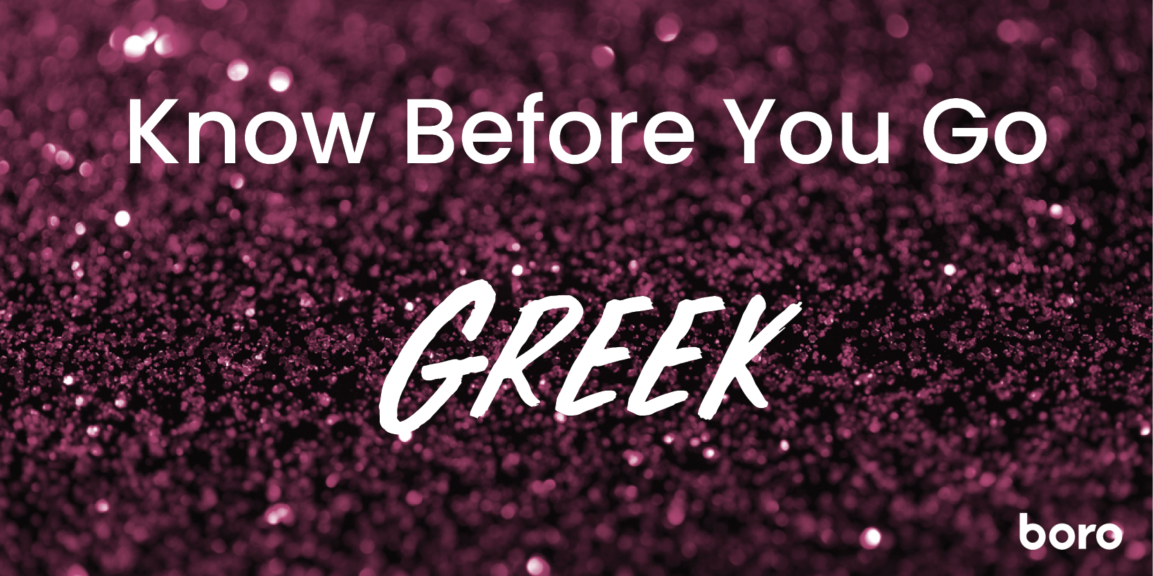 Know Before You Go (Greek)