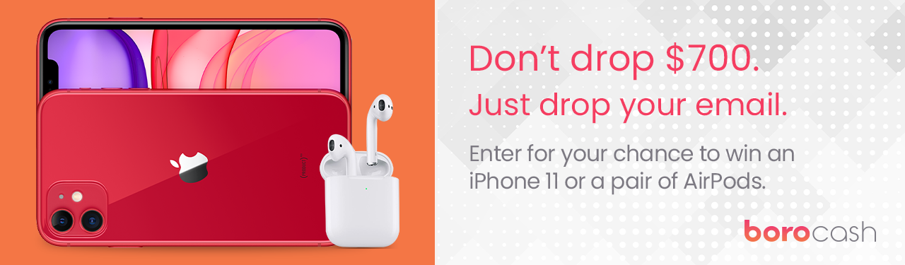 Boro iPhone 11 and AirPod Giveaway