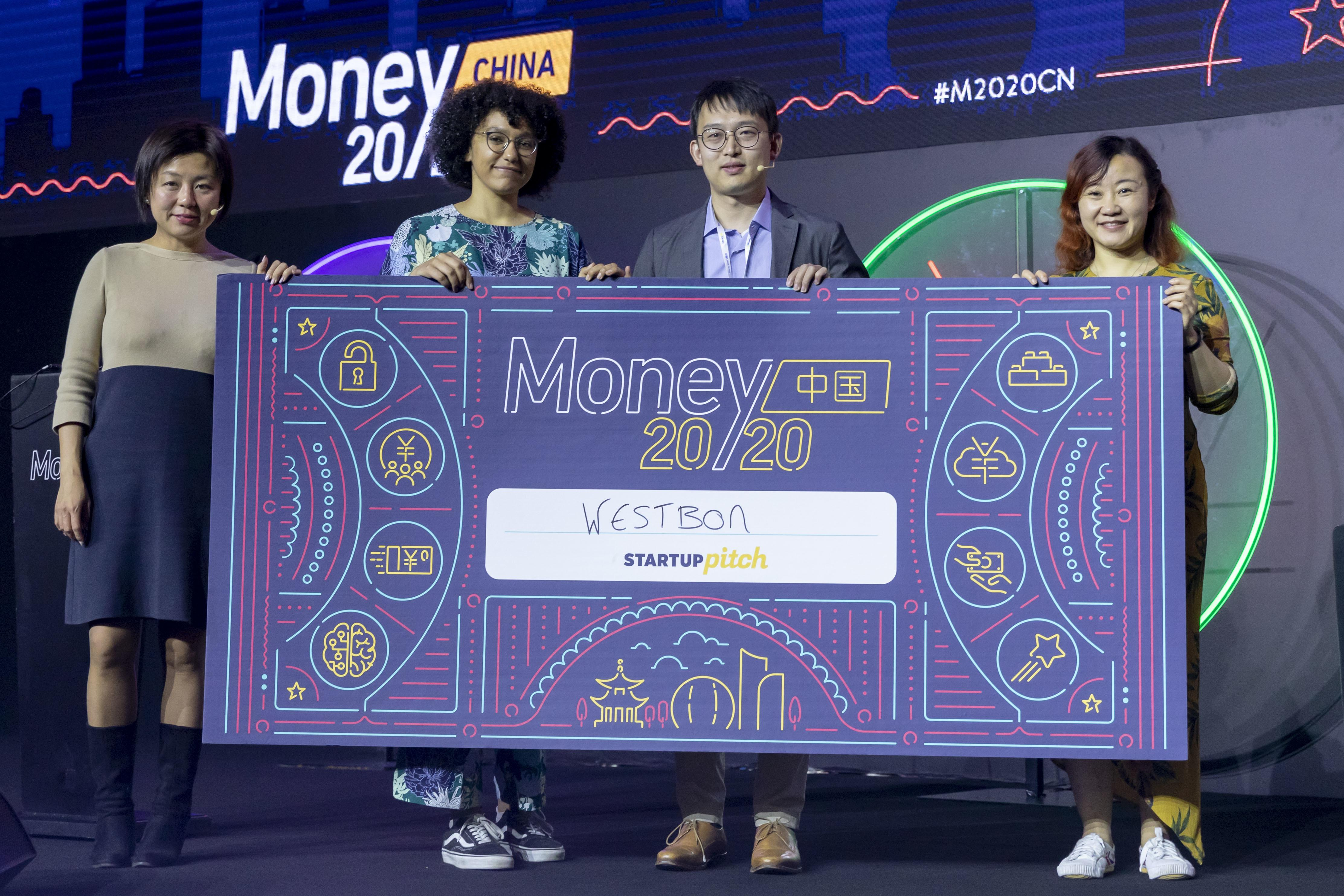 Westbon (Boro) Wins the Startup Pitch at Money 20/20 CN